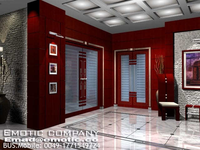 Reception-interior-design