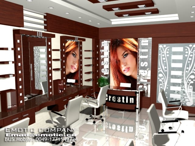 beauty center interior design